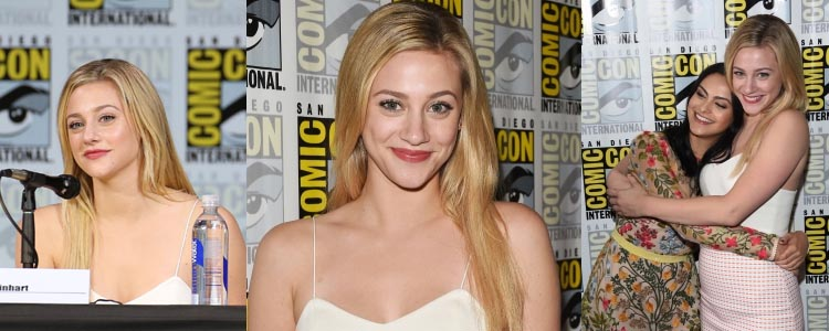 Lili Reinhart at San Diego comic Con 2017